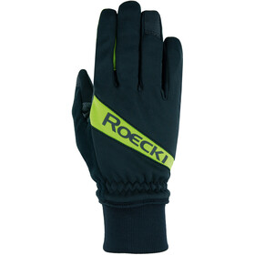 Roeckl Rofan Bike Gloves black/yellow